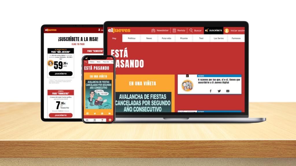 La revista El Jueves estrena sus planes de suscripción digital
