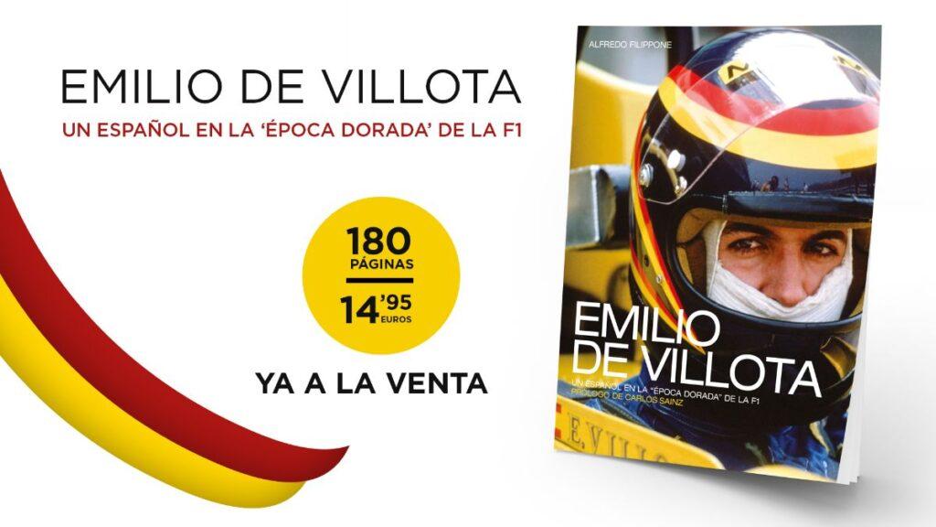 Emilio de Villota libro Motorpress Ibérica